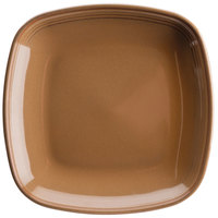Homer Laughlin 133041439 Sepia™ 8 3/4 inch Square Flipside China Plate - 12/Case