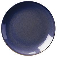 Homer Laughlin 3109026 Indigo™ 10 3/8 inch Round Empire China Plate - 12/Case