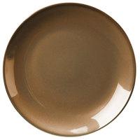 Homer Laughlin 30641439 Sepia™ 8 1/4 inch Round Empire China Plate - 36/Case