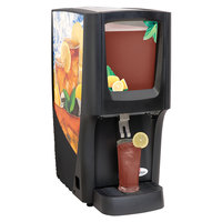 Crathco C-1S-16 G-Cool Single 5 Gallon Bowl Premix Cold Beverage Dispenser with Iced Tea Decal