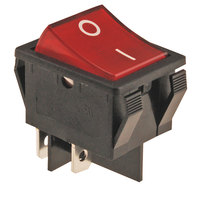FMP 194-1029 Red Lighted Rocker Switch