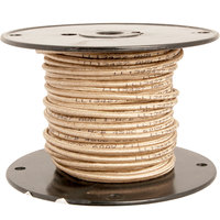 FMP 253-1366 High Temperature Wire; 12 Gauge; Tan; 100' Roll