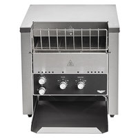 Vollrath CT4-220800 JT2 Conveyor Toaster with 1 1/2 inch Opening - 220V, 2800W