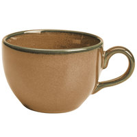 Homer Laughlin 223041439 Sepia™ 8 oz. China Nadia Cup - 12/Case