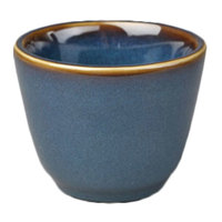 Homer Laughlin 1249026 Indigo™ 4.5 oz. China Chinese Tea Cup - 36/Case