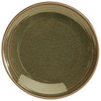 Homer Laughlin 10449030 Pesto® 5 inch Round Flipside China Oil Dish - 36/Case