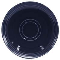 Homer Laughlin 13149026 Indigo™ 6 1/2 inch Flipside China Saucer - 36/Case