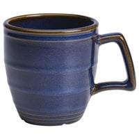 Homer Laughlin 13229026 Indigo™ 14 oz. Flipside China Mug - 12/Case