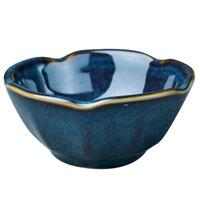 Homer Laughlin 0299026 Indigo™ 3.25 oz. Lotus China Bowl - 36/Case