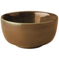 Homer Laughlin 19741439 Sepia™ 9.25 oz. Flipside China Jung Bowl - 36/Case