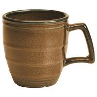 Homer Laughlin 132241439 Sepia™ 14 oz. Flipside China Mug - 12/Case