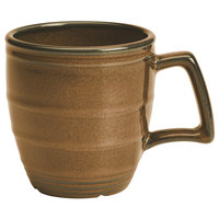 Homer Laughlin 132241439 Sepia™ 14 oz. Flipside China Mug - 12/Case