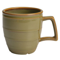 Homer Laughlin 13229030 Pesto® 14 oz. Flipside China Mug - 12/Case