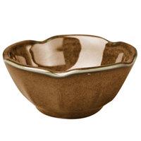 Homer Laughlin 02941439 Sepia™ 3.25 oz. Lotus China Bowl - 36/Case