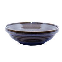 Homer Laughlin 13169026 Indigo™ 17 oz. Flipside China Grapefruit Bowl   - 24/Case