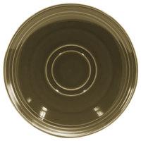 Homer Laughlin 13149030 Pesto® 6 1/2 inch Flipside China Saucer - 36/Case
