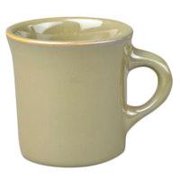 Homer Laughlin 3009030 Pesto® 8.75 oz. China Mug - 36/Case