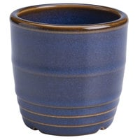 Homer Laughlin 13329026 Indigo™ 5 oz. Flipside China Sauce Cup / Sugar Bowl - 36/Case