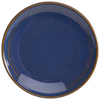 Homer Laughlin 10449026 Indigo™ 5 inch Round Flipside China Oil Dish - 36/Case