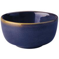Homer Laughlin 1979026 Indigo™ 9.25 oz. Flipside China Jung Bowl - 36/Case