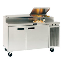 Delfield 18672PTBMP 72 inch Two Door Refrigerated Pizza Prep Table
