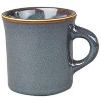 Homer Laughlin 3009026 Indigo™ 8.75 oz. China Mug - 36/Case