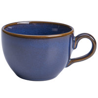 Homer Laughlin 22279026 Indigo™ 11 oz. China Nadia Cup - 12/Case