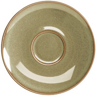 Homer Laughlin 22159030 Pesto® 6 1/2 inch China Nadia Saucer - 36/Case
