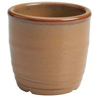 Homer Laughlin 133241439 Sepia™ 5 oz. Flipside China Sauce Cup / Sugar Bowl - 36/Case