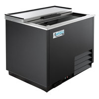 Avantco GF36-HC 36 inch Black Glass Froster / Plate Chiller - 115V