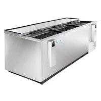 Avantco HBB-80-HC-S 80 inch Stainless Steel Horizontal Bottle Cooler