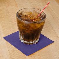 Hoffmaster 180339 Purple Beverage / Cocktail Napkin - 1000/Case