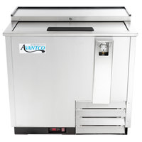 Avantco HBB-36-HC-S 36 inch Stainless Steel Horizontal Bottle Cooler
