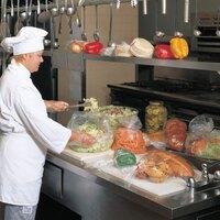 Plastic Food Bag 10 inch x 8 inch x 24 inch 500 / Box
