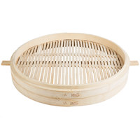 Town 34224 24 inch Bamboo Steamer with Handles