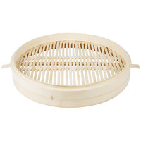 Town 34222 22 inch Bamboo Steamer with Handles