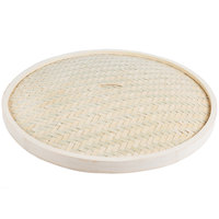 Town 34224C 24 inch Bamboo Steamer Cover