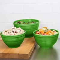 Homer Laughlin 967324 Fiesta Shamrock 3-Piece Prep Baking Bowl Set - 2/Case