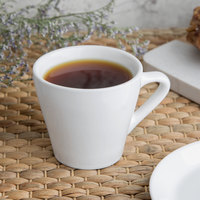 World Tableware SYW-4 4 oz. Ultra Bright White Porcelain Espresso Cup   - 36/Case