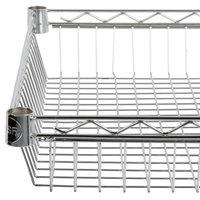 Regency 24 inch x 24 inch NSF Chrome Shelf Basket