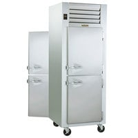 Traulsen G14302P 1 Section Pass-Through Half Door Hot Food Holding Cabinet with Right Hinged Doors