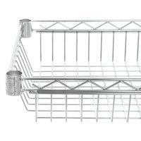 Regency 14 inch x 24 inch NSF Chrome Shelf Basket