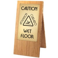 Cal-Mil 852-60 Bamboo WET FLOOR Sign