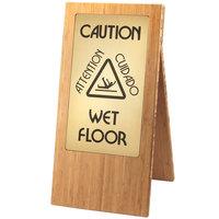 Cal-Mil 852-60 Bamboo WET FLOOR Sign