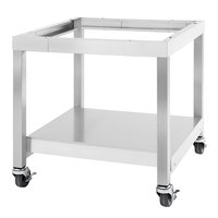 Garland SS-CSD-42 Designer Series 42 inch Range Match Equipment Stand with Casters