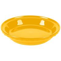 Homer Laughlin 487342 Fiesta Daffodil 10 1/4 inch Deep Dish China Pie Baker - 4/Case