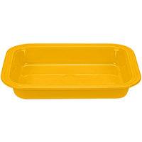 Homer Laughlin 963342 Fiesta Daffodil 13 inch x 9 inch Rectangular China Baker - 2/Case