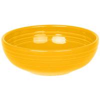 Homer Laughlin 1458342 Fiesta Daffodil 38 oz. Medium China Bistro Bowl - 6/Case