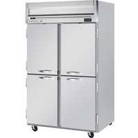 Beverage-Air HR2-1HS Horizon Series 52 inch Top Mounted Solid Half Door Reach-In Refrigerator