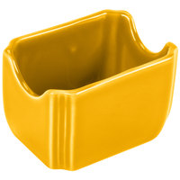Homer Laughlin 479342 Fiesta Daffodil 3 1/2 inch x 2 3/8 inch China Sugar Caddy - 12/Case